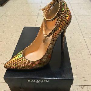 Giuseppe Zanotti x Balmain Paris Collab High Heel